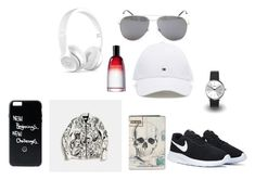 """""""muska moda"""" by amarari ❤ liked on Polyvore featuring Beats by Dr. Dre, Yves Saint Laurent, KENNY, Coach, Alexander McQueen, Fahrenheit, men's fashion and menswear"""