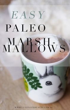 When we went Paleo, we had no idea marshmallows would be back on the menu! We love this simple recipe for a boost of gut-healing gelatin!