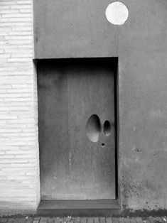 Basalt Door, Cologne, North Rhine-Westfalia, Germany by architects Peter Zumthor and Gottfried Böhm