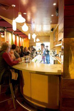 Spoke Wine Bar in Davis Square, Somerville - cozy wine bar in Somerville with great snacks and small plates