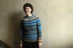 Handmade bright and beautiful sweater by TASSSHA on Etsy, $200.00