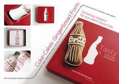 Gingerbread Coke Coke Cake, Christmas Presents, Coca Cola, Gingerbread, Tasty, Shapes, Marketing, Baking, Game