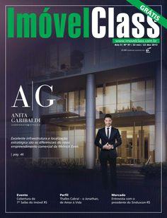 Revista ImóvelClass Edição 97. Destaque de capa para o empreedimento comercial da Melnick Even em Porto Alegre, o A.G Corporate&Offices.
