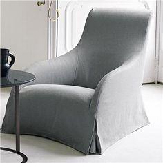 Maxalto Kalos Armchair with Skirt - Style # 9750, Modern Armchairs | Contemporary Arm Chairs | SwitchModern