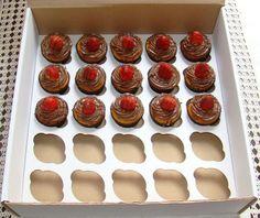 Embalagens para transporte de cupcakes
