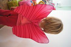 Tutorial ali di farfalla fai da te per Carnevale