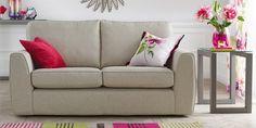 Buy Halton Small Sofa (2 Seats) House Plain Light Natural from the Next UK online shop