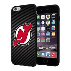 "New Jersey Devils Carbon Fiber Design #1709 iPhone 6 Plus (5.5"") I6+ Case Protection Scratch Proof Soft Case Cover Protector SURIYAN http://www.amazon.com/dp/B00X4K0T8Q/ref=cm_sw_r_pi_dp_Ep8yvb0FF3YPJ"