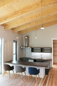 Ceiling Design, Conference Room, Sweet Home, House Design, Dining, Interior, Table, Inspiration, Furniture