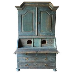 Early 19th Century Period Swedish Gustavian Secretaire Cabinet | From a unique collection of antique and modern secretaires at https://www.1stdibs.com/furniture/storage-case-pieces/secretaires/