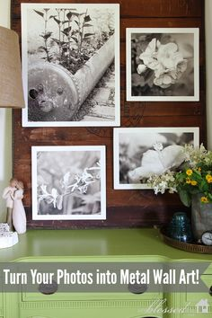 Turn Your Photos Into Metal Wall Art!