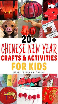 20+ Chinese New Year Activities and Crafts for Kids