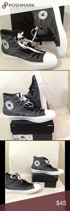 🎉New🎉Converse All Star Chuck Taylor ( Unisex ) Converse All Star Chuck Taylor sneakers features intertwined threading design circle patch logo with two pair of shoe strings. Sneakers have the Lunarlon insoles that support the feet and has the comfortable memory foam. Sneakers have rubber soles with the back heel logo great for back to school gear. Converse Shoes Sneakers
