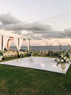 From draping, lighting, custom dance floors and production, we love to be a part of making your wedding come to life. Wedding Venue Decorations, Wedding Themes, Wedding Ideas, Outdoor Wedding Venues, Wedding Quotes, Outdoor Wedding Lights, Outdoor Wedding Destinations, Wedding Events, White Tent Wedding