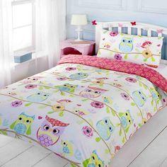 Pink Yukon Comforter Set Owl Bedrooms Owl Bedding