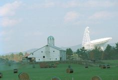 Green Bank Telescope, Green Bank WV--- I used to see this every day on my way to school.