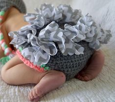 Ravelry: Ruffle Accent Diaper Cover pattern by Megan Meyer