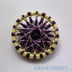紫×黄色 外径26mm
