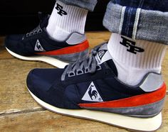 Le Coq Sportif On Feet