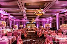 The size of the massive hall at the Ruthe Jackson Center will allow a truly grand reception!  Ambient light photography by Jim Rode