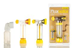 Fluxuator: The safe, quick, clean and efficient way to flux pipes Pipes, Cleaning, Home Cleaning, Pipes And Bongs, Trumpets