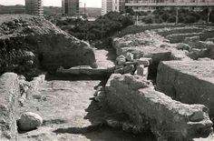 #LucentumYac. Excavaciones en la Puerta Oriental. 1967.
