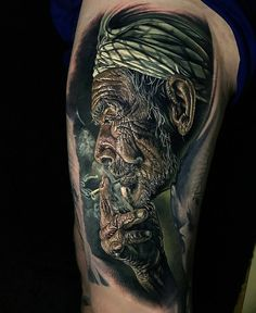 """7,194 Likes, 28 Comments - Tattoo Realistic (@tattoorealistic) on Instagram: """"Outstanding details by @stevebutchertattoos from New-Zealand."""""""