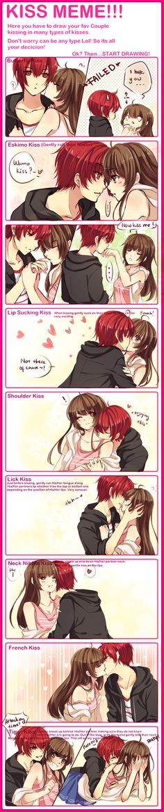 KISS MEME WITH WAIFUUUU by omocha-san on deviantART
