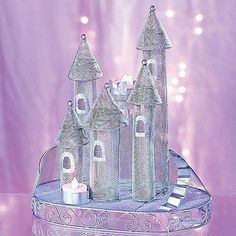 Fairytale Castle Centerpiece Princess Theme Birthday Party Little Girl's Dream #all-proceeds-go-to-help-the-disabled