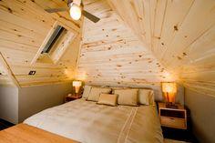 St. Pete's loft bedroom