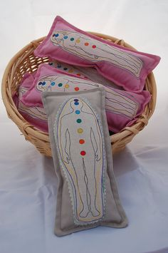 Reiki Distance Reiki Healing Surrogate Pillow /Heat Pad or Cool Compress- Male. $10.95, via Etsy.