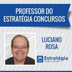 Luciano Rosa é professor de Contabilidade Geral, Contabilidade de Custos, Análise de Demonstrações Contábeis. Formado em administração de empresas, com 17 anos de experiência em empresas privadas, na área de controladoria.Atualmente, é Agente Fiscal de Rendas em São Paulo. Professor de contabilidade, custos e análise de balanço dos sites Estratégia Concursos, Tecconcursos e Forum Concurseiros. https://www.estrategiaconcursos.com.br/professor/luciano-rosa-2000/