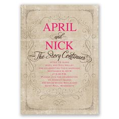 15 Best Vow Renewal Invitations Images Vow Renewal Invitations