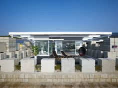 Glass House for Diver / naf architect & design (23)