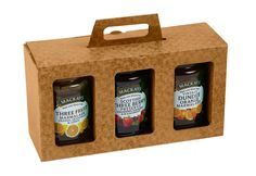 Triple Jam/Preserve Jar Box - Pack of 25 - Gift/Presentation Pack