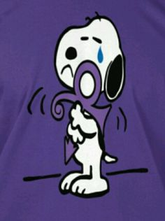 Snoopy tribute to Prince