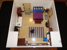 My Room in LEGO Lego Wedo, Lego Club, Lego Room, Lego House, Lego Stuff, Lego Creations, My Room, Legos, Minecraft