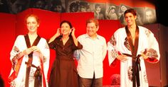 """Marília Pêra dirige o espetáculo """"Doce Deleite"""", com Camila Morgado e Reynaldo Gianecchini"""