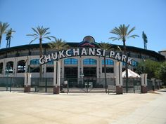 Chukchansi Park - Fresno, CA Home of the Fresno Grizzlies, AAA affiliate of the Houston Astros. Clovis California, Central California, California Homes, Northern California, Fresno Grizzlies, Fresno County, San Joaquin Valley, Baseball Park, Sequoia National Park