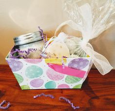 Perfect for the mother, wife, girlfriend or just a lovely friend - lavender helps the bath lover in your life relax and unwind!   This basket is for the lady or other bath lover in your life!  Check out this item in my Etsy shop https://www.etsy.com/listing/504361232/lavender-batheaster-basketmothers