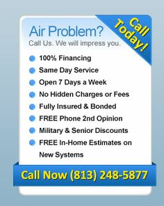 Call Today! 813-248-5877