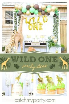 Check Out This Cool Wild One Birthday Party The Decorations Are Incredible