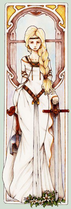 another goddess.