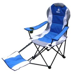 Delicieux Folding Camping Chair With Footrest And Carrying Case. Come Check It Out!