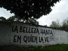 La belleza habita en quien la ve #Acción Poética Tucumán #accion