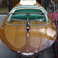 The one and only Riva Boat