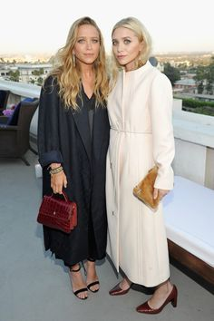 Daily Style Directory: Mary-Kate and Ashley Olsen - click through to see this week's best dressed list