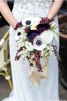 fall bridal bouquet inspired by the great gatsby fall wedding flowersfall