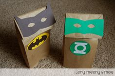 Super Hero puppets