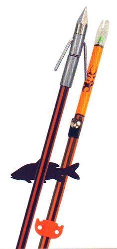 Fin-Finder Hydro-Carbon Arrow w/BIG HEAD Pro Point w/Aqua Nock $34.99 Carbon Arrows, Bowfishing, Archery, Hunting, Aqua, Big, Woodland Forest, Life, Bow Arrows